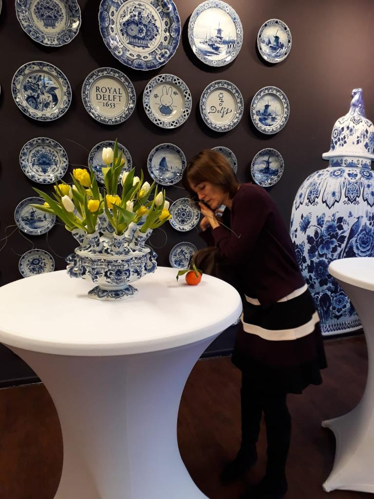 Christy de Back bij Royal Delft